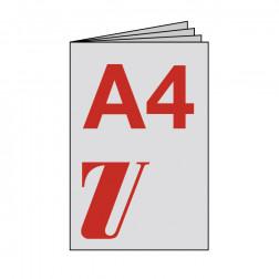 Broschüre A4, geheftet, starker Umschlag