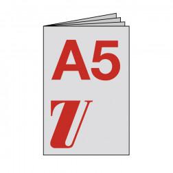 Broschüre A5, geheftet, starker Umschlag