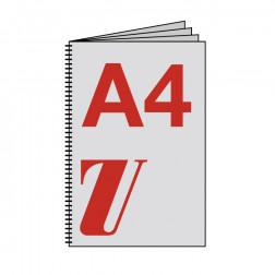 Diplomarbeit A4, starker Umschlag