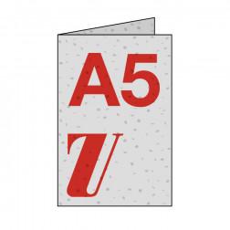 Saatgutpapier Flyer 4-seitig