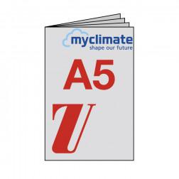 Broschüre A5, geheftet, klimaneutral